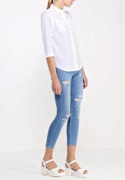 Рубашка Topshop                                                                                                              белый цвет