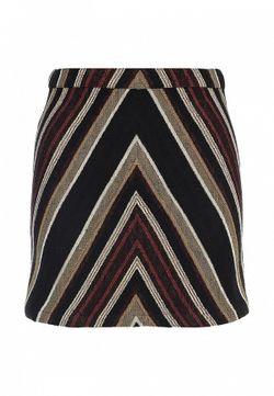 Юбка Topshop                                                                                                              коричневый цвет
