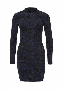 Платье Topshop                                                                                                              многоцветный цвет