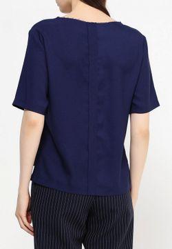 Блуза Topshop                                                                                                              синий цвет