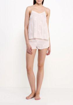 Пижама Topshop                                                                                                              розовый цвет