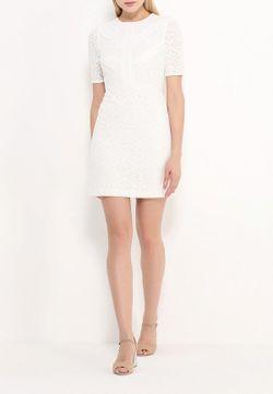 Платье Topshop                                                                                                              белый цвет