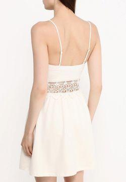 Платье Topshop                                                                                                              бежевый цвет