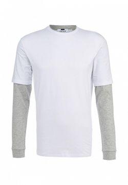 Лонгслив Topman                                                                                                              белый цвет