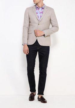 Пиджак Topman                                                                                                              бежевый цвет