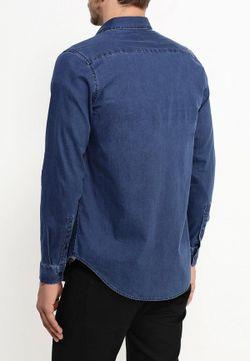 Рубашка Topman                                                                                                              синий цвет