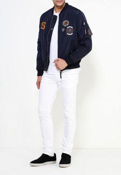 Куртка Утепленная Topman                                                                                                              синий цвет