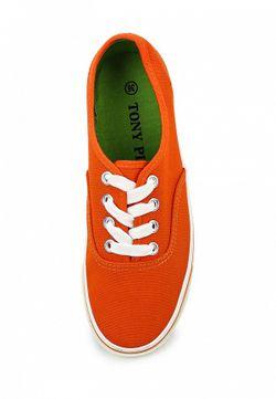 Кеды Tony-p                                                                                                              оранжевый цвет