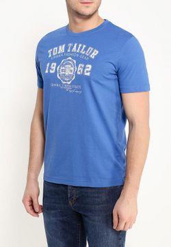 Футболка TOM TAILOR                                                                                                              голубой цвет