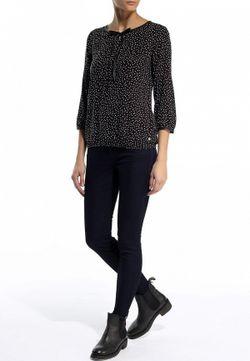 Блуза TOM TAILOR                                                                                                              черный цвет