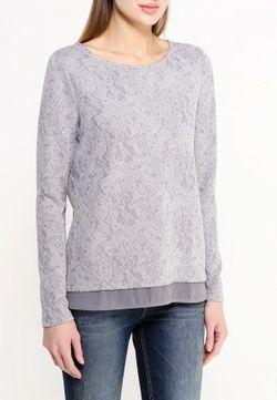 Блуза TOM TAILOR                                                                                                              серый цвет