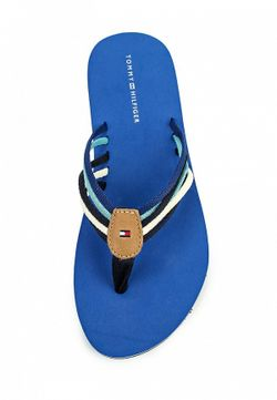 Шлепанцы Tommy Hilfiger                                                                                                              синий цвет