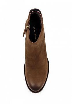Ботильоны Tommy Hilfiger                                                                                                              коричневый цвет