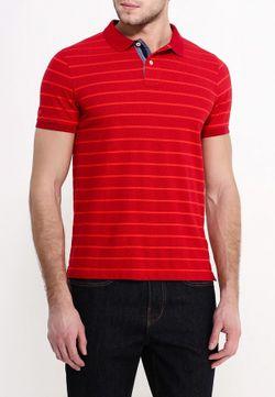 Поло Tommy Hilfiger                                                                                                              красный цвет