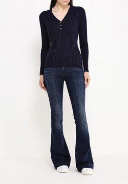 Пуловер Tommy Hilfiger                                                                                                              синий цвет