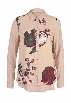 Блуза Tom Tailor Denim                                                                                                              розовый цвет