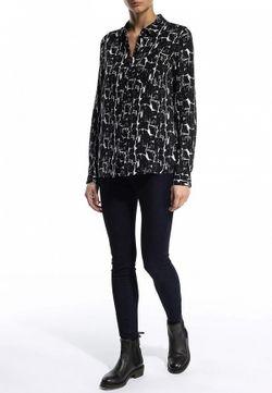 Блуза Tom Tailor Denim                                                                                                              черный цвет