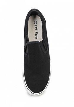 Слипоны T.P.T. Shoes                                                                                                              чёрный цвет