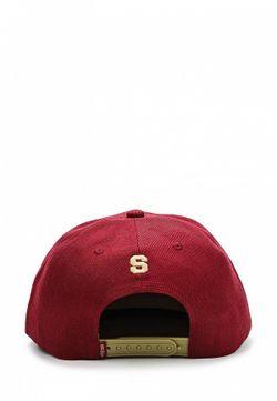Бейсболка True Spin Truespin                                                                                                              красный цвет