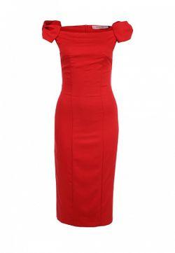 Платье TrendyAngel                                                                                                              красный цвет