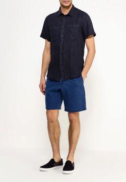 Рубашка Trussardi Jeans                                                                                                              синий цвет
