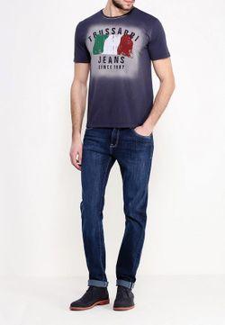 Джинсы Trussardi Jeans                                                                                                              синий цвет