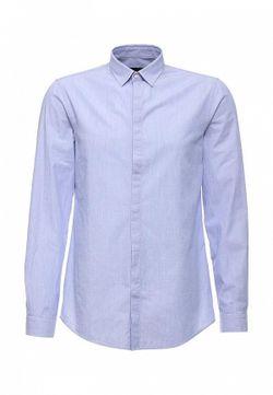 Рубашка Trussardi Jeans                                                                                                              голубой цвет