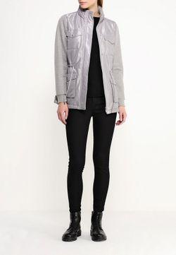 Куртка Утепленная Trussardi Jeans                                                                                                              серый цвет