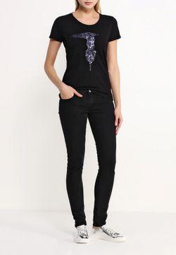 Футболка Trussardi Jeans                                                                                                              черный цвет