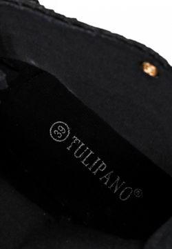 Кеды Tulipano                                                                                                              чёрный цвет