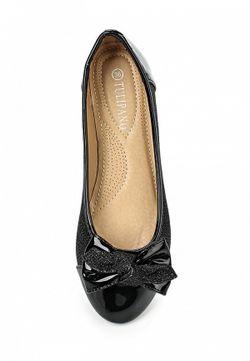 Балетки Tulipano                                                                                                              чёрный цвет