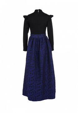 Платье Эксклюзивно Для Lamoda Tutto Bene                                                                                                              синий цвет