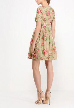 Платье Tutto Bene                                                                                                              хаки цвет