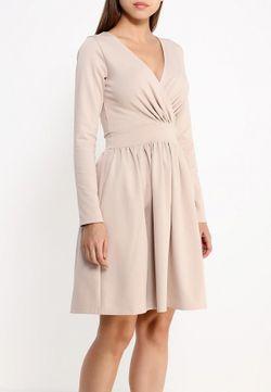 Платье Tutto Bene                                                                                                              бежевый цвет