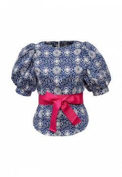 Блуза Tutto Bene                                                                                                              синий цвет