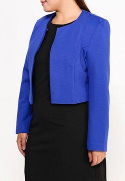 Жакет Ulla Popken                                                                                                              синий цвет