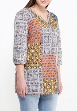 Блуза Ulla Popken                                                                                                              многоцветный цвет