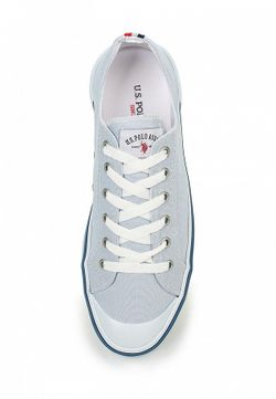 Кеды U.S. Polo Assn.                                                                                                              голубой цвет