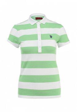 Поло U.S. Polo Assn.                                                                                                              зелёный цвет