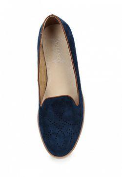 Лоферы Valley                                                                                                              синий цвет
