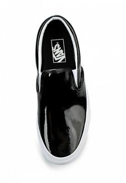 Слипоны Vans                                                                                                              чёрный цвет