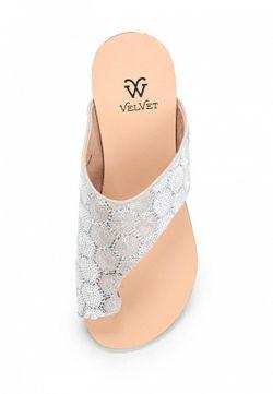 Сабо Velvet                                                                                                              белый цвет