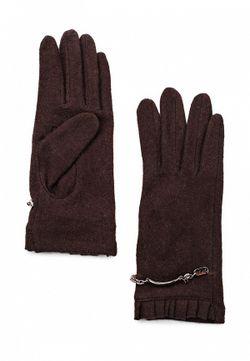 Перчатки Venera                                                                                                              коричневый цвет