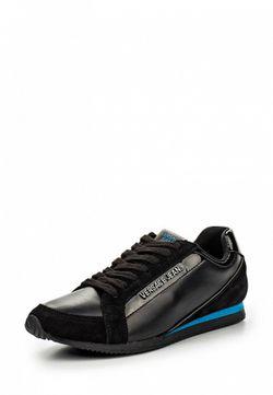 Кроссовки Versace Jeans                                                                                                              чёрный цвет