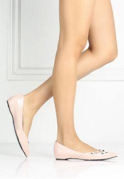 Балетки Versace Jeans                                                                                                              розовый цвет