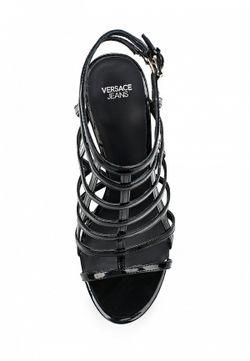 Босоножки Versace Jeans                                                                                                              чёрный цвет