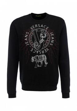 Свитшот Versace Jeans                                                                                                              чёрный цвет