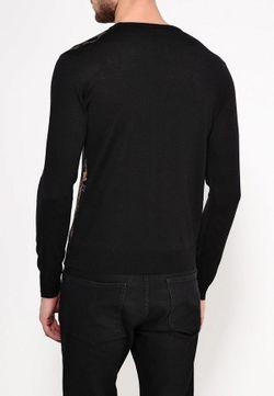 Джемпер Versace Jeans                                                                                                              черный цвет