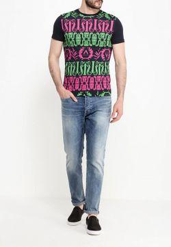 Футболка Versace Jeans                                                                                                              чёрный цвет