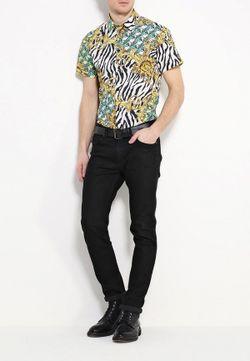 Рубашка Versace Jeans                                                                                                              многоцветный цвет